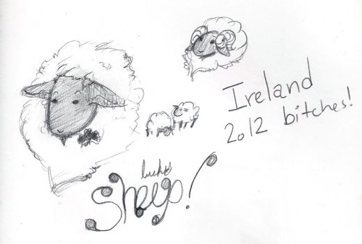 Some sheep doodle by PixAnna