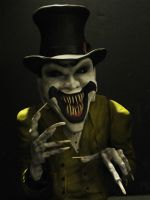 Ringmaster WITH Arms by mycsculptures