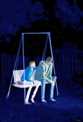 Garden swing by PascalCampion