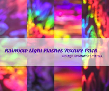 Rainbow Light Flashes Pack by powerpuffjazz