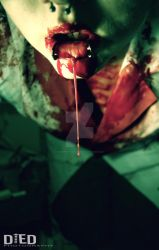 Drop of Blood by DiedPhotography