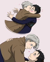 Born to make Victuuri by quidditchchick004