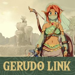 Gerudo Link - Project Cover by HeartGear