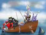 Boat Squad by Storm-berry