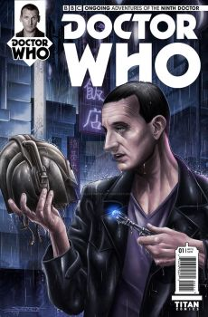 Doctor Who (9th) - Fake Cover by angelsaquero
