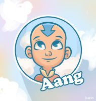 Aang illustration by ioanin
