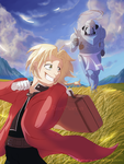 FMA Cover- Abducted Alchemist, no Title by x-RainFlame-x