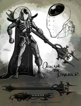 Orikan the Diviner by AGhostDreamCG