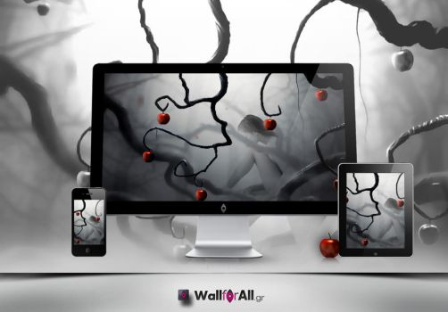 Apple forest by WallforAll