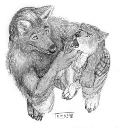 Werewolf Lessons by Toledo-the-Horse