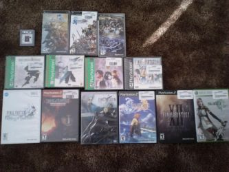 My Final Fantasy Collection by Jxudo