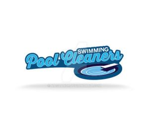 Swimming Pool Cleaners Logo by kasbandi