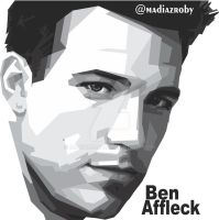 BEN AFFLECK portrait fans art by MadiazRoby