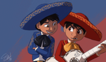 Coco - Marco and Miguel by TC-96