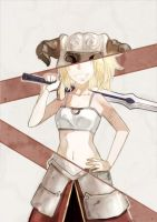 Costume Change-Mordred by Tthal