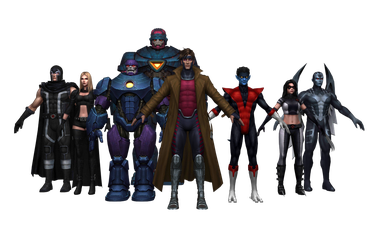 M-FF AND Update 4.5.0 Characters by GR-85