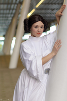 SW: Princess Leia Organa I by Aigue-Marine