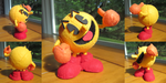 Spyrofoam Pac-Man by ToodlesTeam