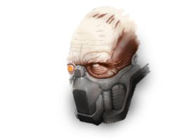 Strogg - Head FINISHED by b3ngi