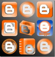 Blogger Icon Set by rohman24