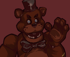 Freddy Fazbear by skarthug