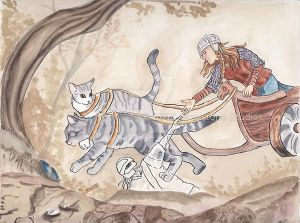 Freya And Her Cats
