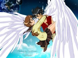 Escaflowne - 15 years anniversary by Neldorwen
