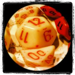 In the eye of the dice.. by fjrfwow