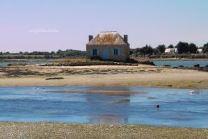 The Oyster Farmer's Cottage by Catlaxy