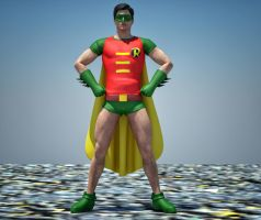 Robin Classic textures for goldenage suit by hiram67