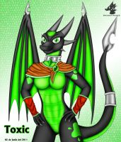 Art Trade? - Toxic by Dragon-Rage2
