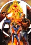 Fantastic Four... my version by LouizBrito