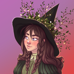 witch in my style by Kisarra