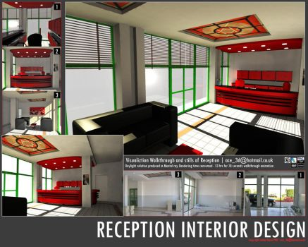 interior for a reception by sultanbh