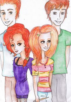 the gingers by Georgia-Lou-Erin