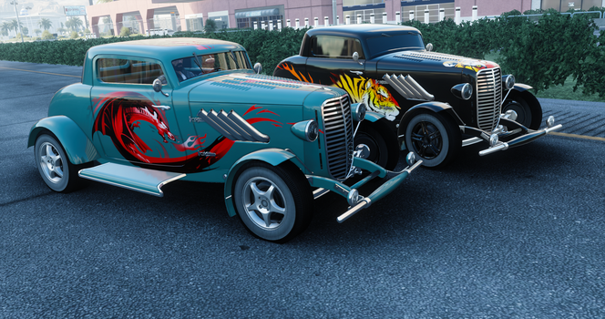 The Crew Hotrods by LuisMilla