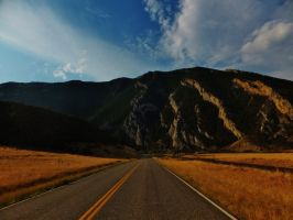 On the way to Yellowstone NP by bootlacephotography