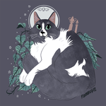 Mick: Pet Portrait Commission by reimena
