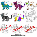 Kitty adopts! Cheap! .:OPEN:. by MonsterMeds
