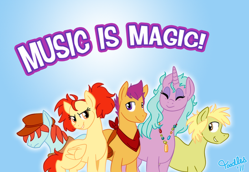 Music is Magic by Toodles3702