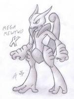 Mega Mewtwo X by AR-ameth