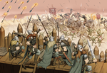 The Siege of Falling Springs Station by Jumpei