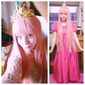 Princess Bubblegum - Almost There! by Abbysaurus
