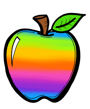 Rainbow Apple by tulacoe