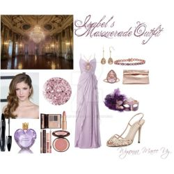 MC: Isabel's Masquerade Outfit by MariposaLass-93