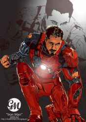Iron man by greg-arts