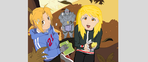 (FMA) Hangin' out by CookieCoCoPuffs