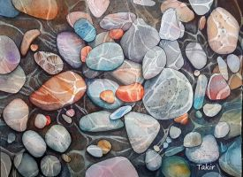 Time to collect stones by Takir