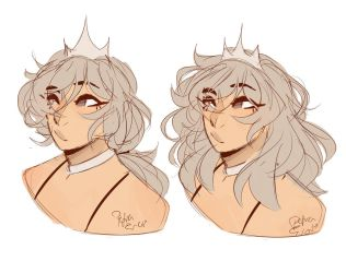 KIK -  hairstyles by Drawing-Heart