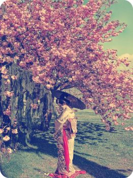 Cherry Blossom Girl by ISIK5